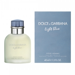Dolce & Gabbana D&G Light Blue Man Edt 40 Ml Vapo
