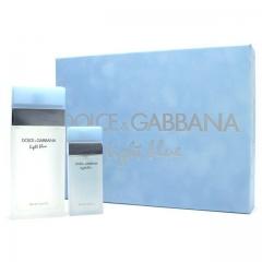 Dolce & Gabbana D&G Light Blue Femme Set Edt 100Ml + Edt 25Ml