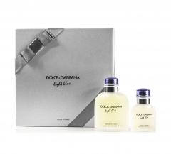 Dolce & Gabbana D&G Light Blue Man  Set Edt 125Ml + Edt 40 Ml Vapo