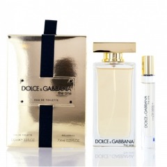 Dolce & Gabbana D&G The One Set Woman Edt 100Ml+Edt 7,4Ml Roll On