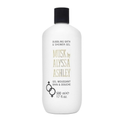 Alyssa Ashley Musk bath gel fragrant 500Ml