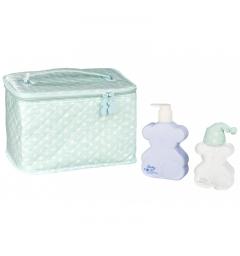 Tous Baby Eau De Cologne 100Ml  + body milk 250Ml +  makeup bag