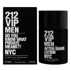 Carolina Herrera 212 Vip Men After Shave Lozione 100Ml