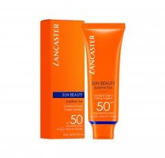Lancaster Sun Beauty Comfort Touch Cream Gentle Tan Spf50 50Ml