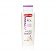 Babaria Almendras Body Milk Pelle Molto Secca 500Ml