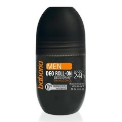 Babaria Men deodorant Roll-On alcohol-free Accion 24H 50Ml