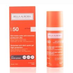 Bella Aurora  anti - stain Gel cream Solar Spf50 combination skin-oily 50Ml