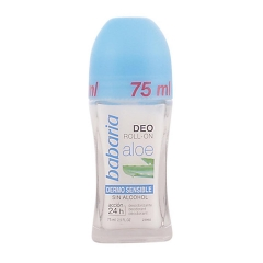 Babaria Aloe Vera Deodorant Roll-On alcohol-free 75Ml