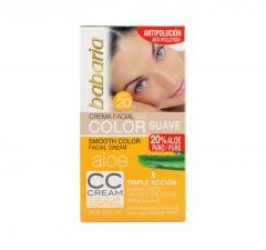 Babaria Aloe Vera Crema Viso Color Delicato 50Ml