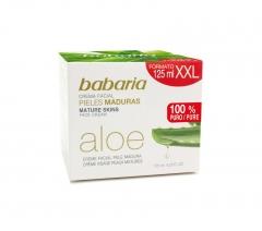 Babaria Aloe Crema Viso Pelle Matura 125Ml
