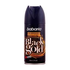 Babaria Black Gold Deodorant 150Ml spray