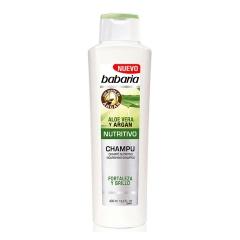 Babaria Aloe Vera Shampoo Nutritious With Argan 400Ml