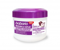Babaria onion hair mask without smell 400Ml
