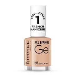 Rimmel Super Gel French Manicure Smalto Per Unghie 093 Caramel Nude