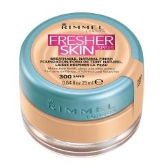 Rimmel Fresher Skin Spf15 Natural Finish Foundation 300 Sand