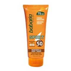 Babaria Sport cream Solar Spf50 Waterproof 75Ml