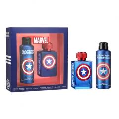 Marvel Capitan America Eau De Toilette 100Ml  + Colonia 200Ml