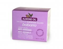 Babaria Almond Oil Crema Antirughe 50Ml
