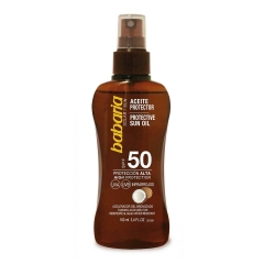Babaria  oil protector Coco Spf50 high protection 100Ml