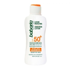 Babaria protection milk sensitive skin Spf50+ 100Ml