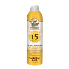 Australian Gold Premium Coverage Spray Spf15 177Ml
