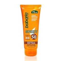 Babaria Sport cream Spf50 75Ml