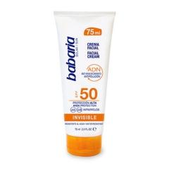 Babaria Solar cream Spf50 Invisible 75Ml