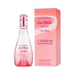 Davidoff Cool Water Woman Sea Rose Caribbean Summer Edition Eau De Toilette 100Ml