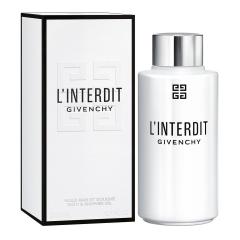 Givenchy L'Interdit Givenchy Bath Shower Oil 200Ml