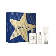 Giorgio Armani Acqua Di Gio Eau De Toilette 100Ml  + Gel De Bano 75Ml + Miniatura 15Ml
