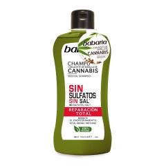 Babaria Cannabis Shampoo sulfate free total repairing 400Ml
