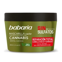 Babaria Cannabis mask Sulfate Free dry and damaged hair 200Ml