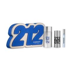 Paco Rabanne 212 Men Eau De Toilette 100Ml + After Shave Gel 100Ml + Miniatura 1Un.