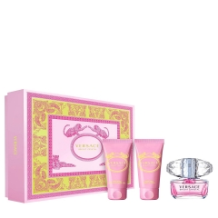 Versace Bright Cryst. Edt 50Vp+Bl50+G50