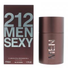 Carolina Herrera 212 Sexy Men Edt 50 Ml Vapo